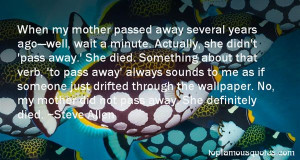 Quotes About Passed Away Mother Pictures