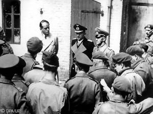 1946 Nuremberg Tribunal On day 84 Hermann Goering is cross examined