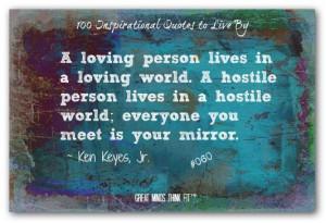 Ken Keyes, Jr. Quote #060