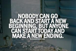 Beginning or ending