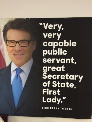 GOP Presidential Candidates Praise Hillary Rodham Clinton
