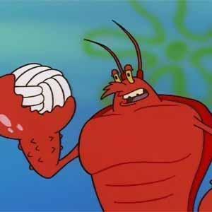 Mermaid-man-King-Neptune-and-Larry-the-Lobster-spongebob-squarepants ...
