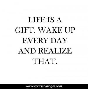 Life is precious quotes