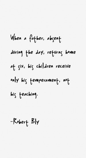 View All Robert Bly Quotes