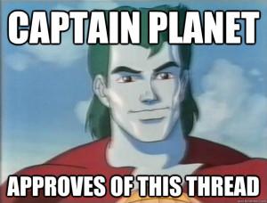 Captain Planet Quotes