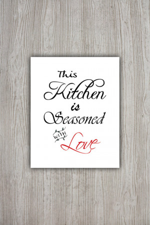 Kitchen Printable Quotes Quotesgram