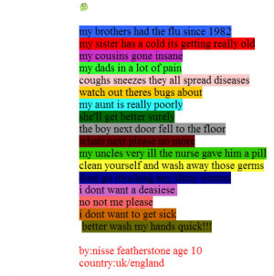 Have Copied The poem Exactly