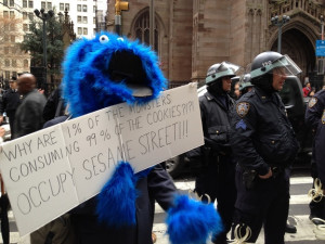 Occupy Sesame Street! | Funny Pictures, Quotes, Pics, Photos, Images ...