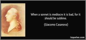 More Giacomo Casanova Quotes