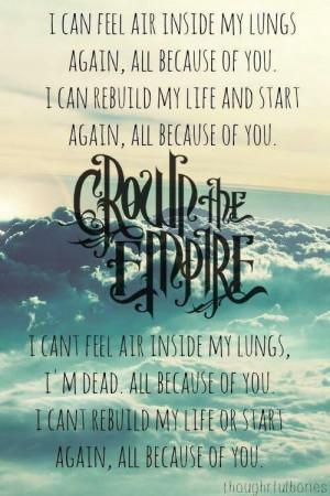Crown the Empire- Johnny Ringo