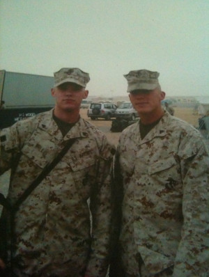 Marine Brothers Cpl willis and his brother