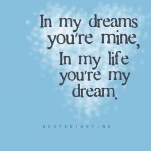your mine..