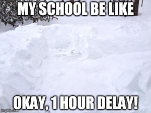 Snow Day School Lame Fail