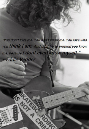 Eddie Vedder | via Tumblr