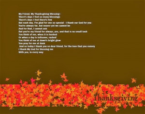 Best Funny Thanksgiving Poems For Friends