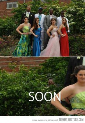 Funny photos funny prom photo black girl soon