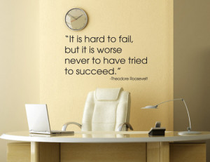 ... Office Decals - Vinyl Wall Lettering Quote - Inspirational Quotes