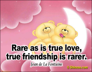 Rare True Love Friendship...