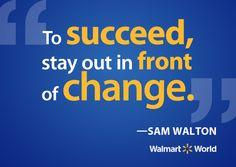 Sam Walton's key to success More