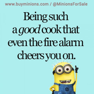 Good Cooks Be Like… #cooking #fail #funny #minionquote