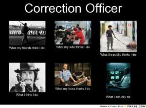 Correctional Officer What I Do