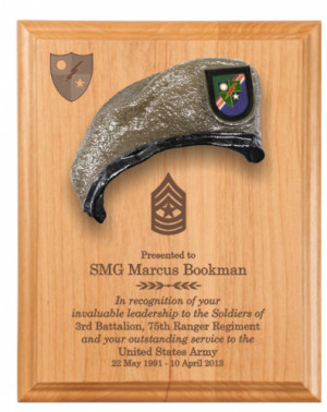 military retirement plaque sample military retirement plaque military ...