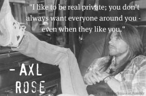 axl rose quote :)