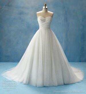 Cinderella wedding dress - Disney Bridal Fairy Tale Weddings by Alfred ...