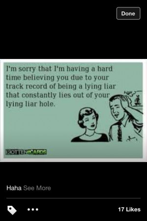 Hate Liars Quotes And Sayings