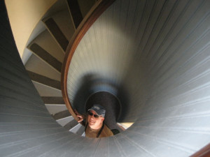 An interesting Claustrophobic Spiral Staircase