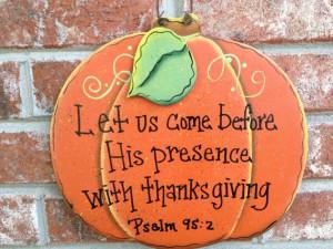 Pumpkin Bible Verse Sign Fall Home Decor Hanger Autumn Decor Sign on ...