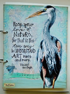 Keep your love of nature, for that is the true way to understand art ...