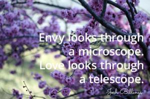 jealousy envy quotes
