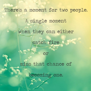 ... that chance of becoming one.