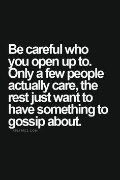 People Who Gossip