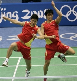 FUNNY BADMINTON PICTURES
