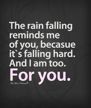 falling for u... Hard
