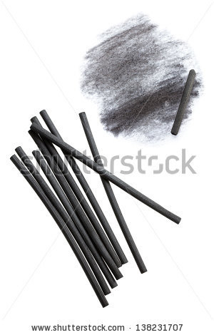 Charcoal drawing Stock Photos, Illustrations, and Vector Art