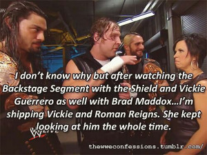 Vickie & Roman Reigns