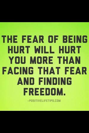 Facing fear