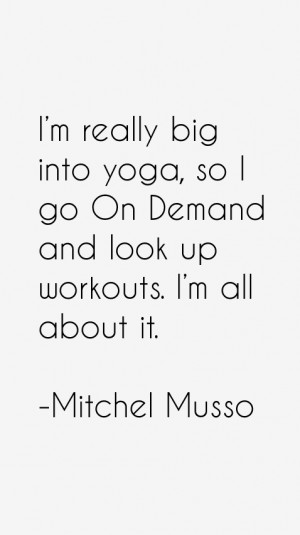 View All Mitchel Musso Quotes