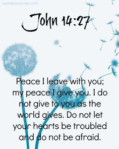 God Gives Us His Peace www.wendywoerner.com Find peace and # ...