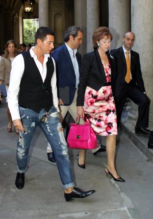 Stefano Gabbana Letizia Moratti Giovanni Terz gaay6mR4dp5x jpg