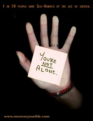 you are not alone you are not alone