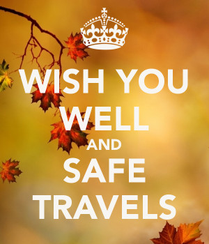 Safe Travel Wishes