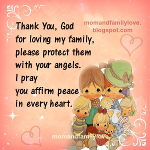 Thank You, God for loving my family,