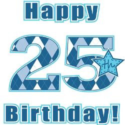 happy_25th_birthday_greeting_cards_pk_of_10.jpg?height=250&width=250 ...