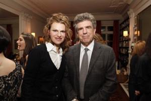 Sandra Bernhard and Tom Freston