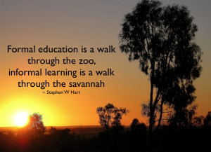 Stephen Hart has a good series of quotes on informal and social ...