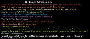 Hunger Games Quotes by black0nat